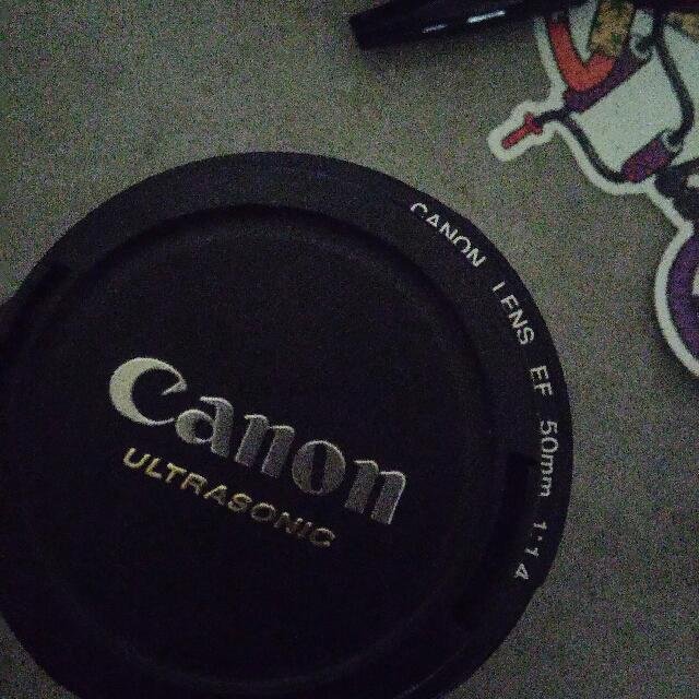 canon 50mm f1.1:4 ultra sonic