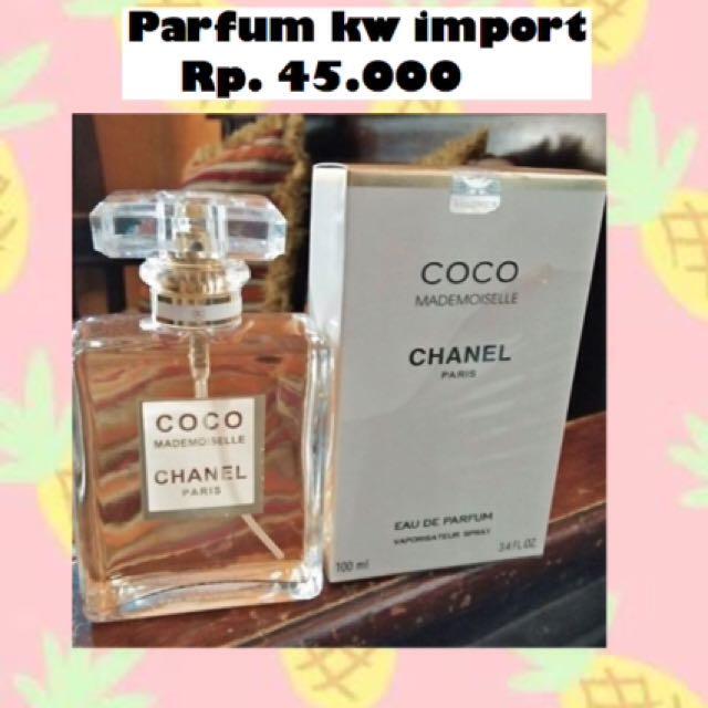 Chanel coco madamoiselle kw import