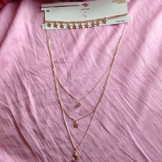 Charlotte Russe Necklace And Choker