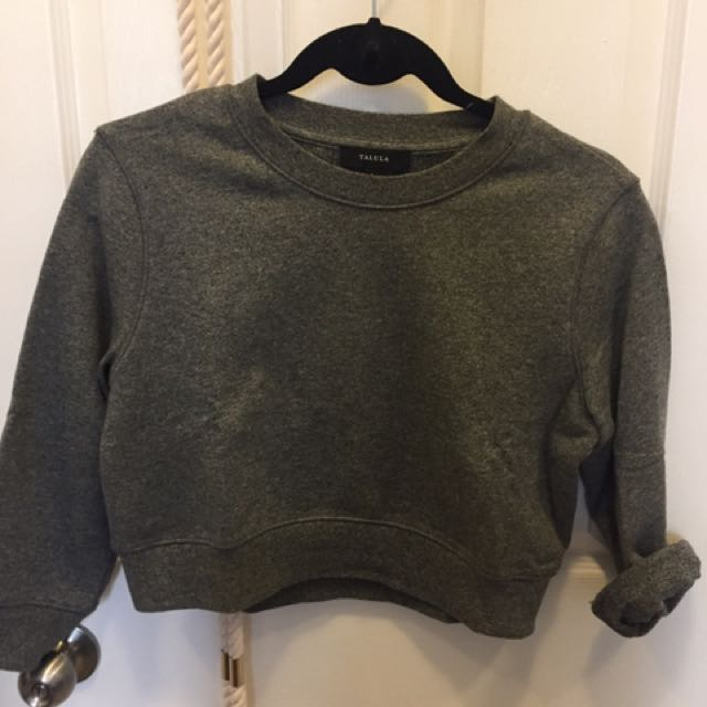 Cropped Sweater - Aritzia