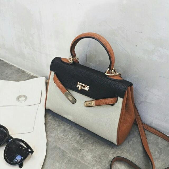 D1019 Hand Bag || Tas Import || Tas Fashion || Tas Batam || destyannis || Dazzling Tabby