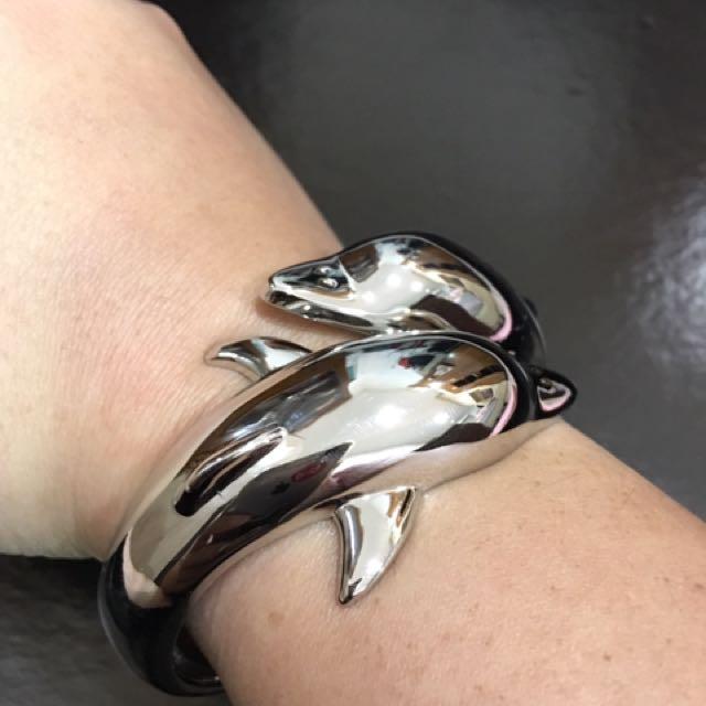 Dolphin bangles