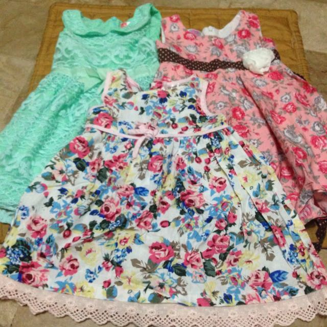 Repriced!!!!Dresses for Baby 18months-up