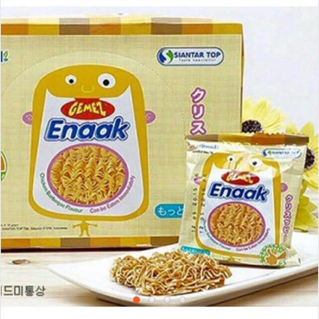 韓國Enaak點心麵 1箱6盒