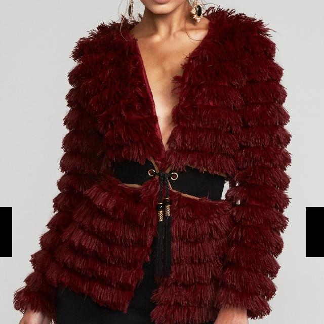 faux fur coat
