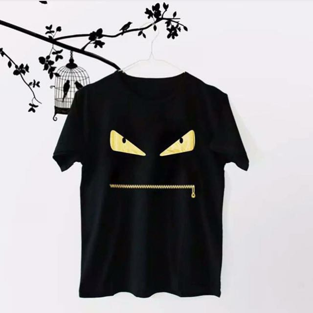 Fendi black t-shirt