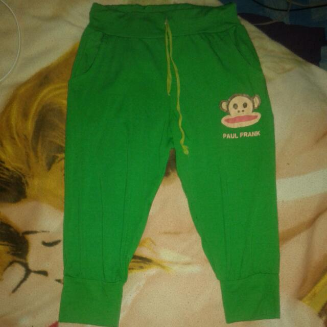 Fitting 3/4 Green Short