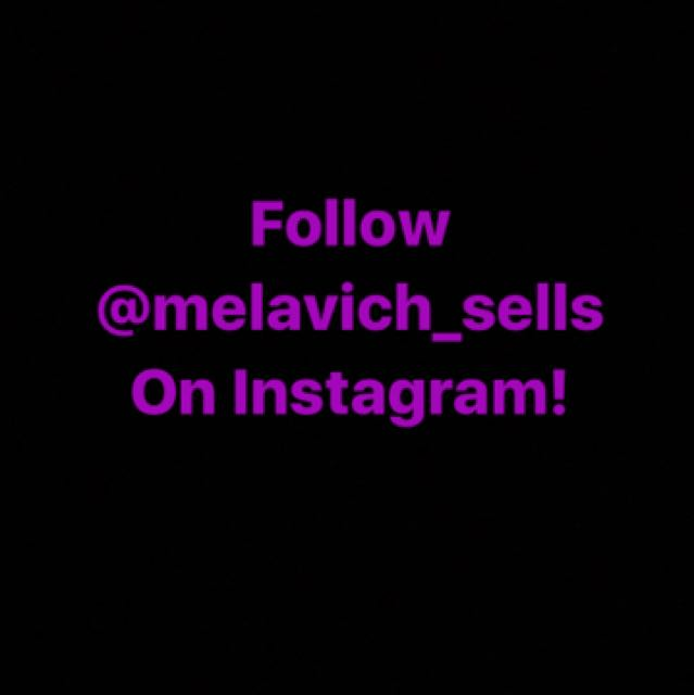 FOLLOW MY INSTA SELL PAGE