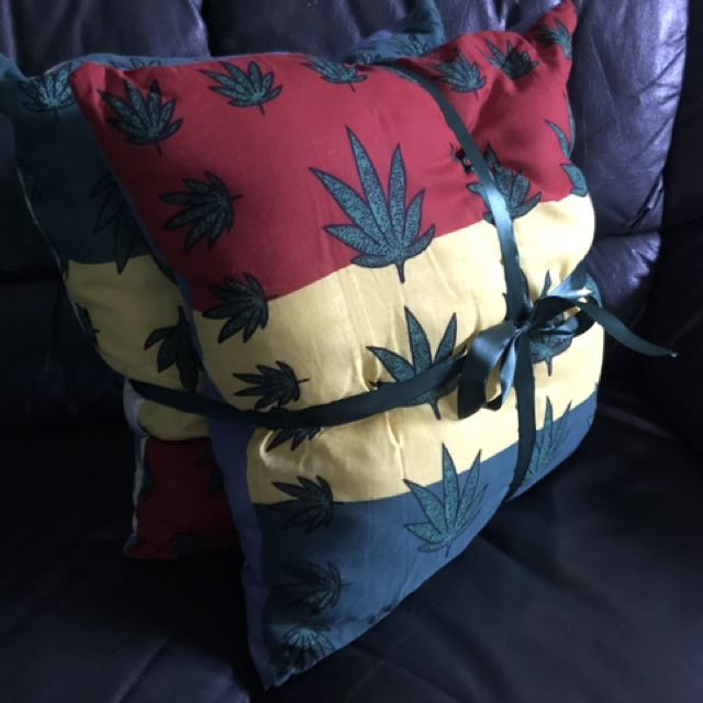 Gangster pillow set (weed)