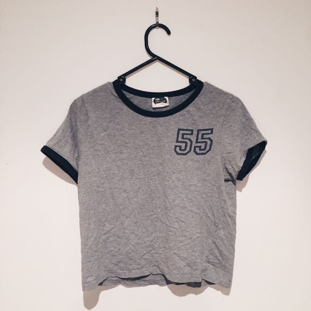 Grey All About Eve Tshirt Size 12