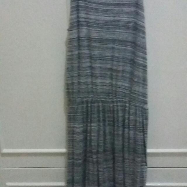 Haltered long dress