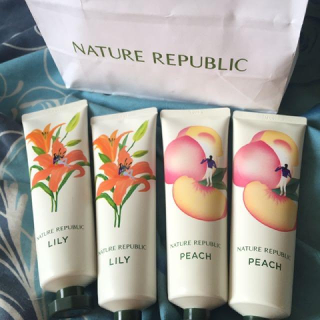 hand cream by nature republic