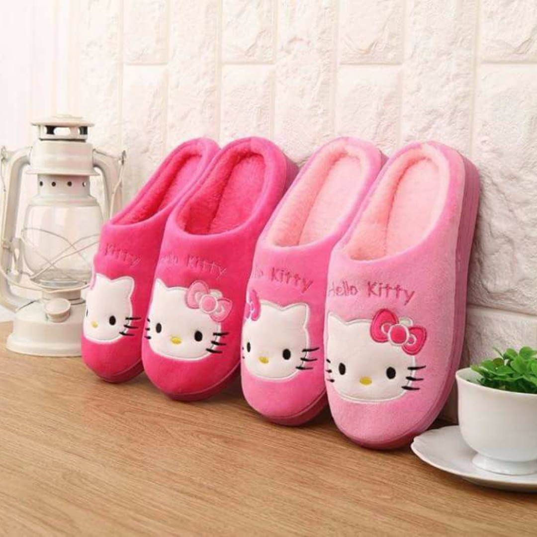 Hello Kitty Adult Slippers