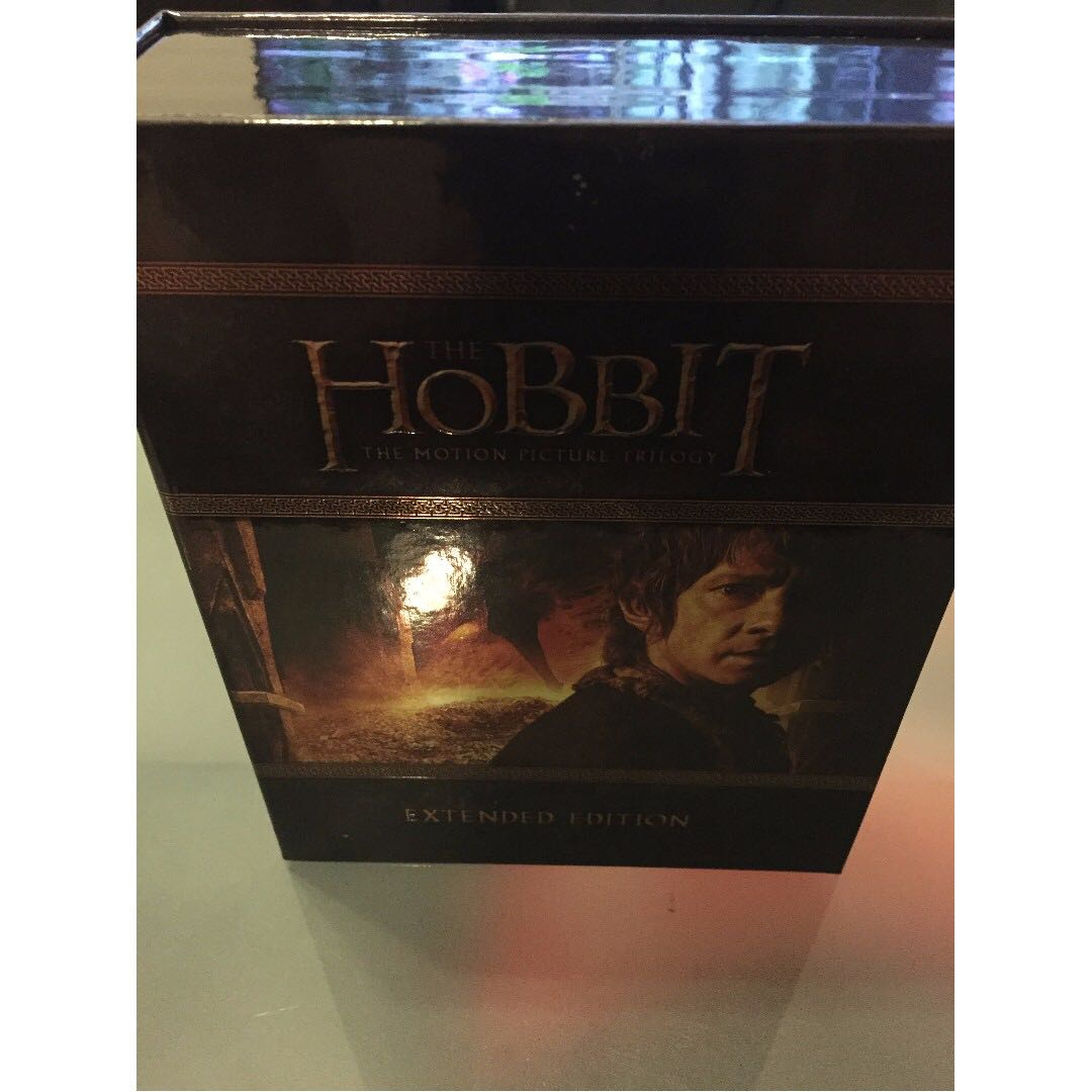 Hobbit Trilogy Blu-Ray Extended Edition for sale $50