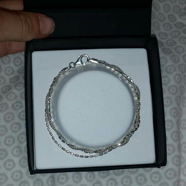 Hoskings Silver Bracelet