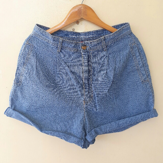 HW Baggy Denim Shorts