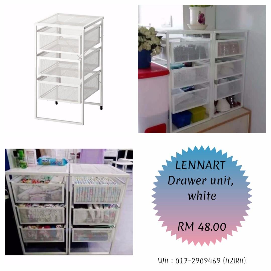 IKEA - LENNART Drawer Unit