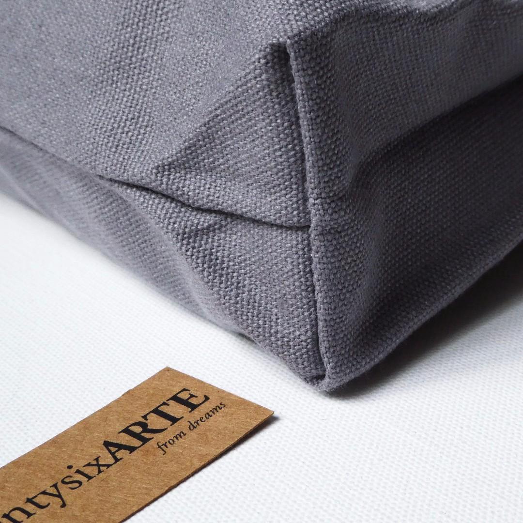 IN-STOCK | ARTE Classic Canvas Tote Bag | Grey