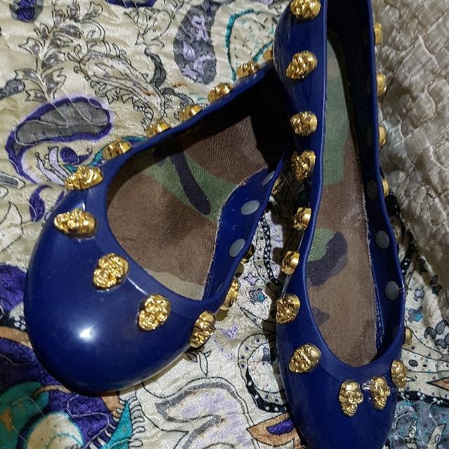 Jelly Flat Shoes like Melissa Grendha Zaxy