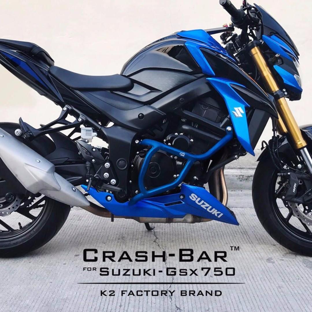 K2 Factory Singapore Suzuki GSXS 750 Crash Bar ! Ready Stock