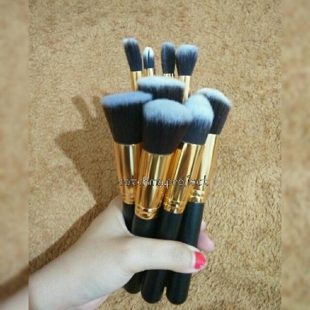 Kabuki Brush Makeup