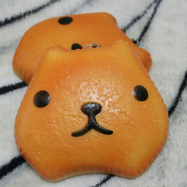 Kapibarasan Bread Pan Squishy