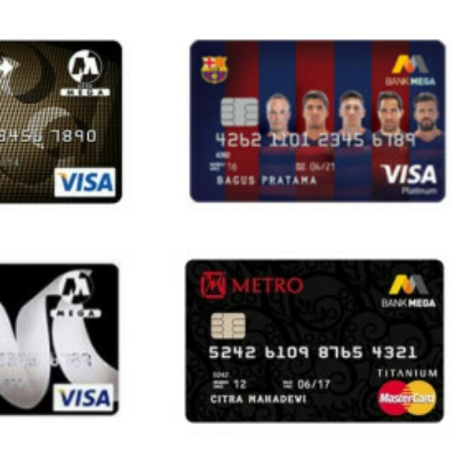 Kartu Kredit Bank Mega #tisgratis