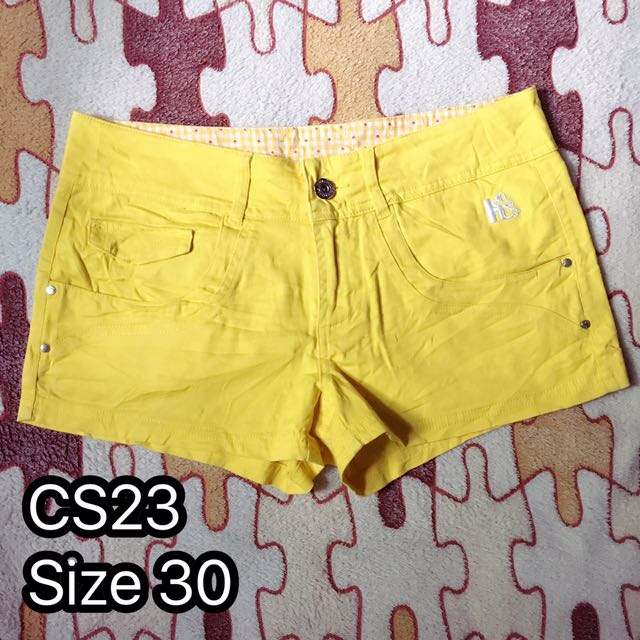 K-cotton shorts
