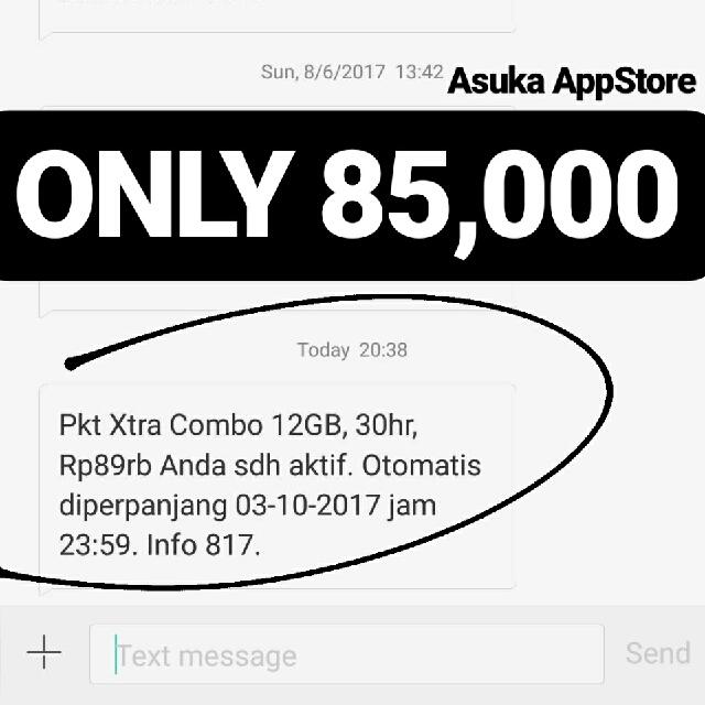 Kuota Combo XL 12GB