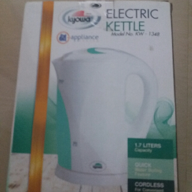 KYOWA Electric Kettle (New) Still Sealed
