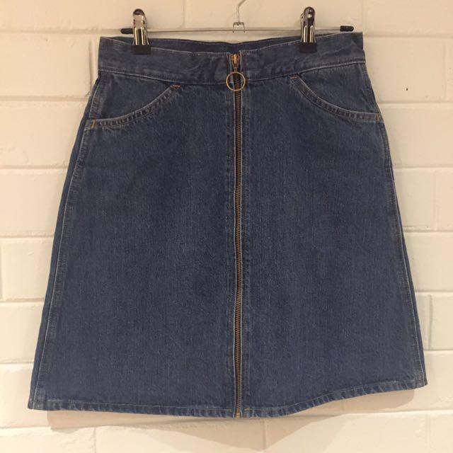 Levi's Demin Skirt