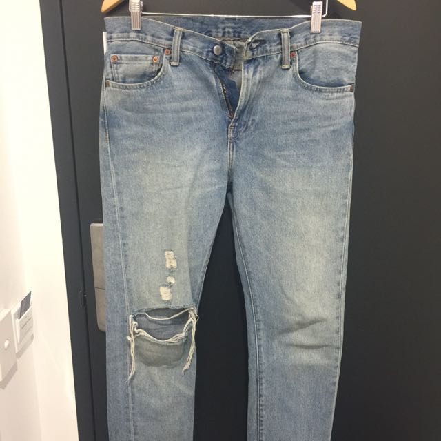Levi's ripped denim urban outfitters 32