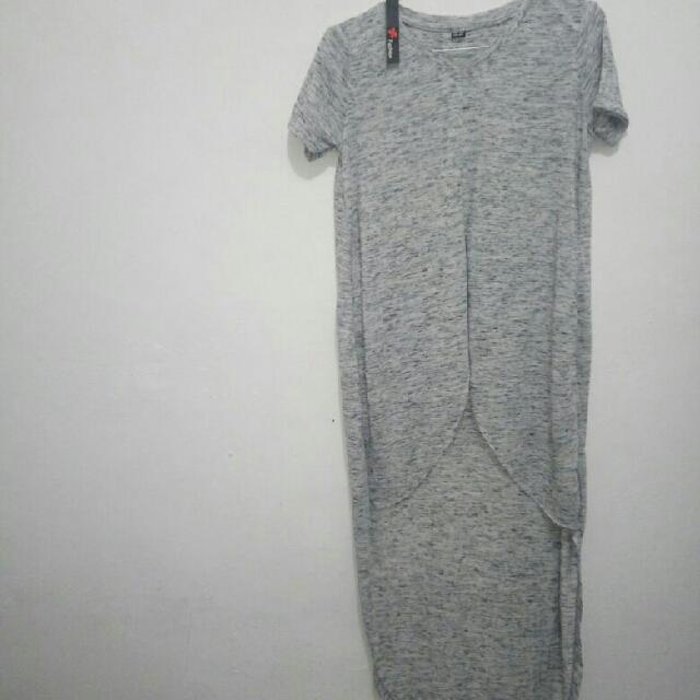 Long Dress V-neck All Size