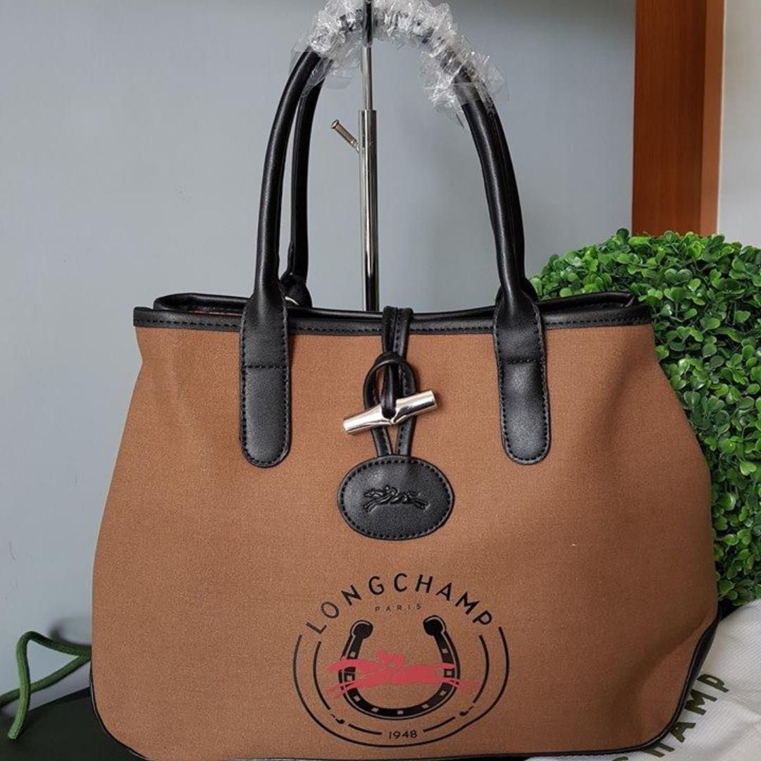 Discount Portable Longchamp 1948 Coin Bags Dark Orange