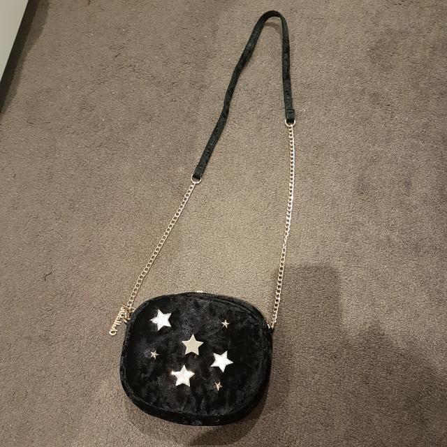 Missguided Black Suede Sling Bag