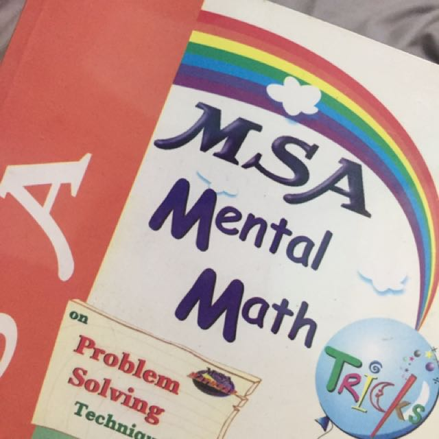 MSA Mental Math Tricks