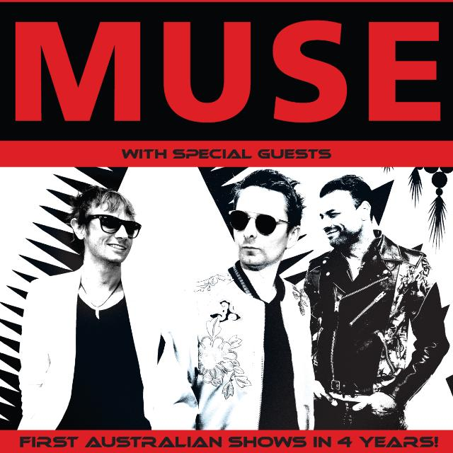 Muse Tour Concert Tickets