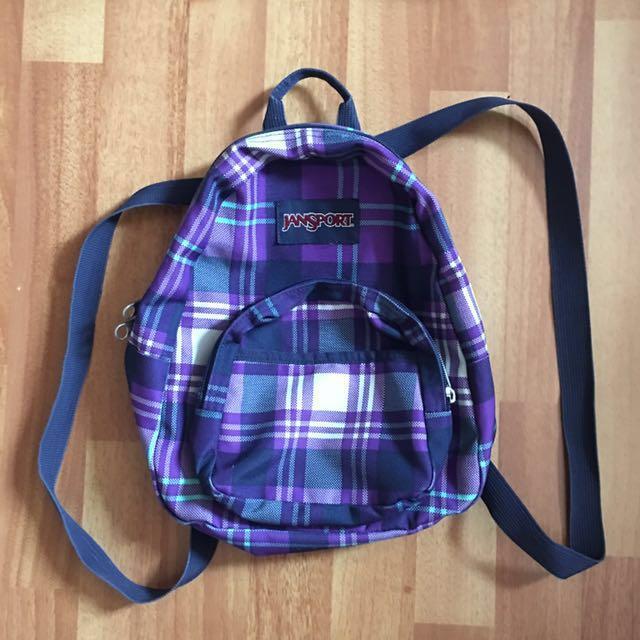 Original Mini Jansport Bag