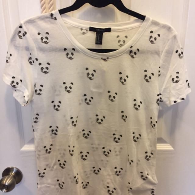 Panda tshirt