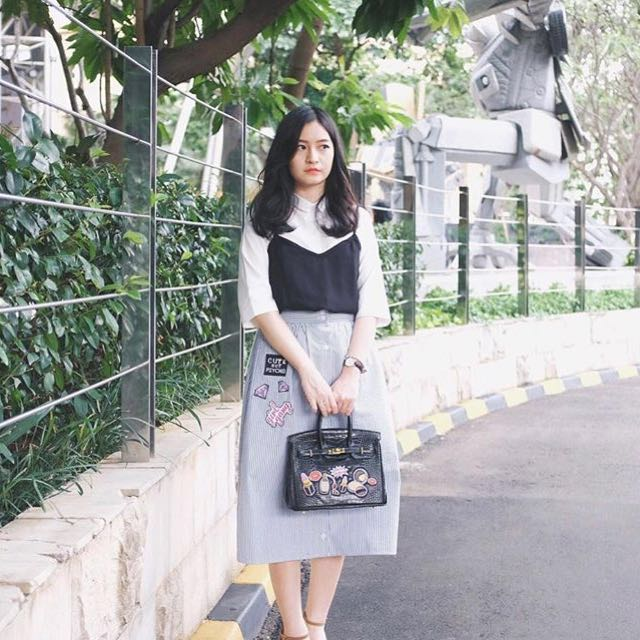 Patches set (top & skirt)