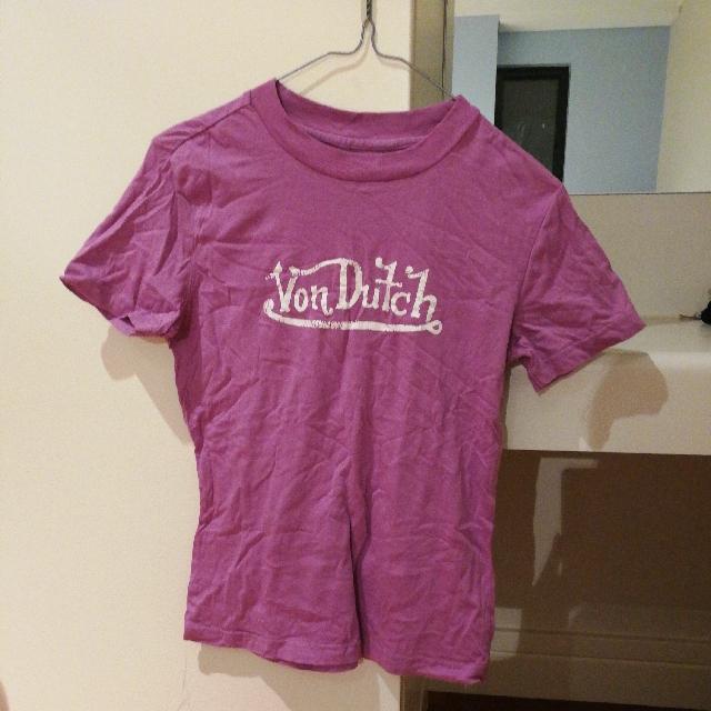 Purple t-shirt from Von Dutch size small
