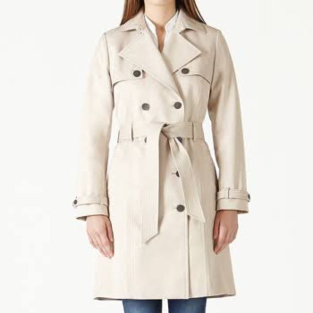 QUICK SALE - David Lawrence Trench Coat