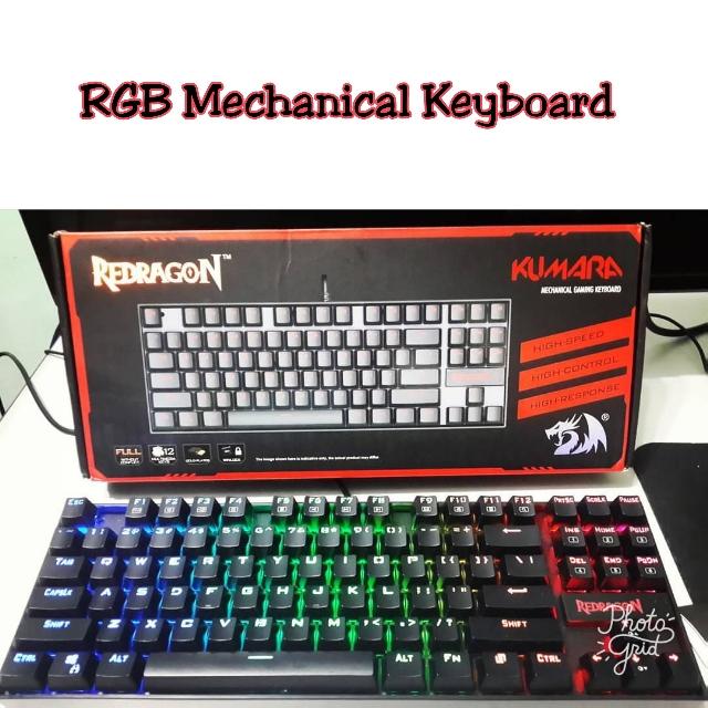 2315a2b474b Redragon Kumara RGB Mechanical Gaming Keyboard, Electronics ...