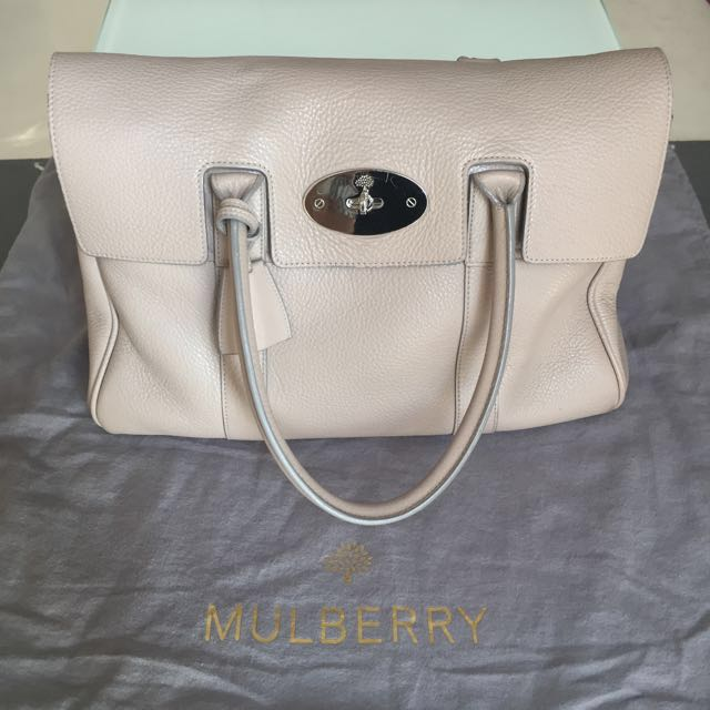 c4f910ada059 Reduced  Mulberry Bayswater Classic Leather Bag