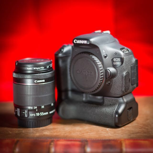 Rent] Canon 600D DSLR Camera Rental, Photography on Carousell