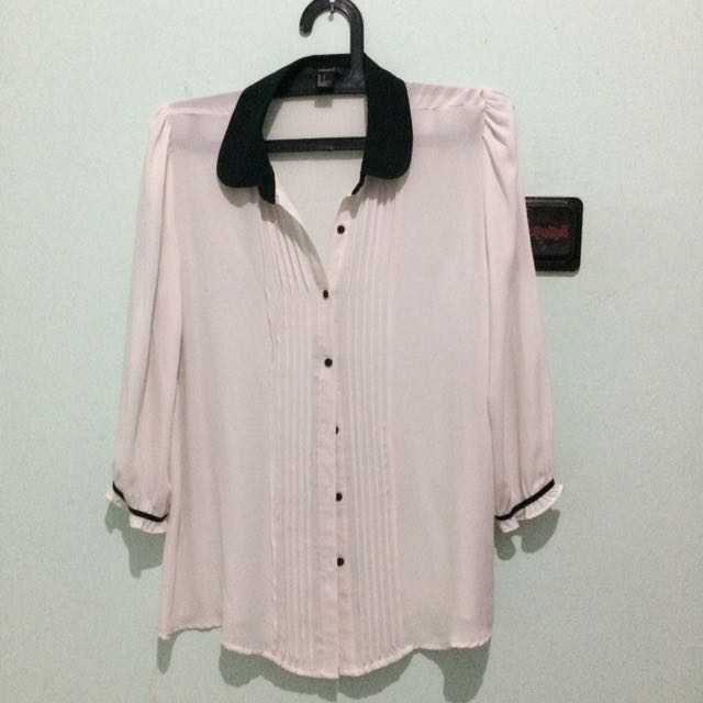 REPRICE!! Forever 21 Chiffon Blouse