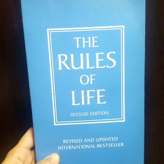 Rules of life by richard templar books stationery fiction on rules of life by richard templar books stationery fiction on carousell fandeluxe Gallery