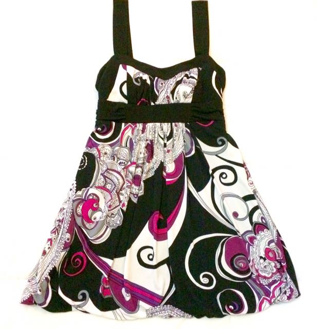 SALE!!! Abstract Print Dress