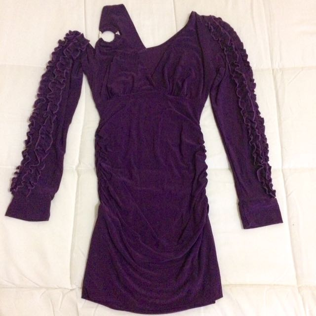 SALE!!! Elegant Violet Dress