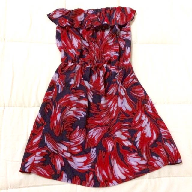 SALE!!! Printed Tube Dress